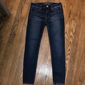 American Eagle Super Stretch Skinny Jeans Sz 4